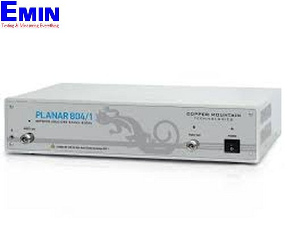 Máy phân tích mạng vector trên PC Copper Mountain Planar 808/1 (0.1 MHz - 8.0 GHz, 4-port  16 S-parameters (S11 – S44)  )